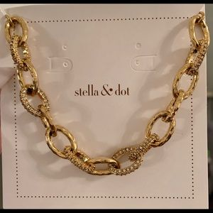 Stella & Dot gold bracelet.